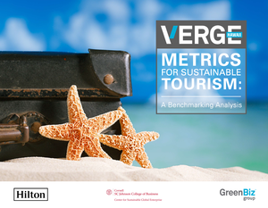 Metrics for Sustainable Tourism: A Benchmarking Analysis